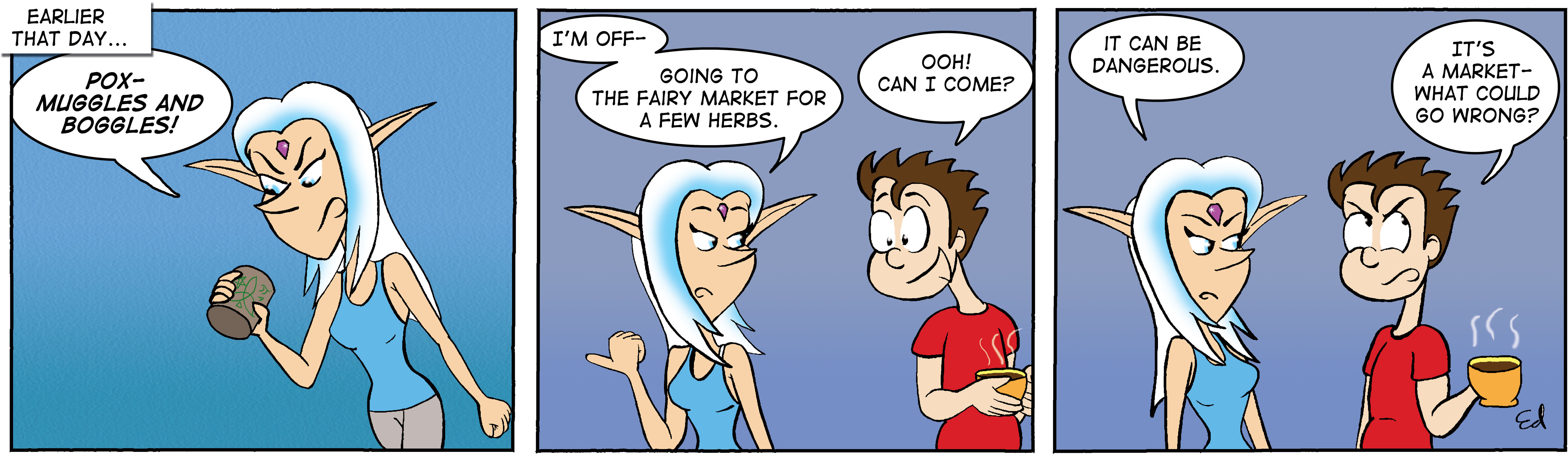 A Funny Thing Happened On The Way To The Fairie Market 2