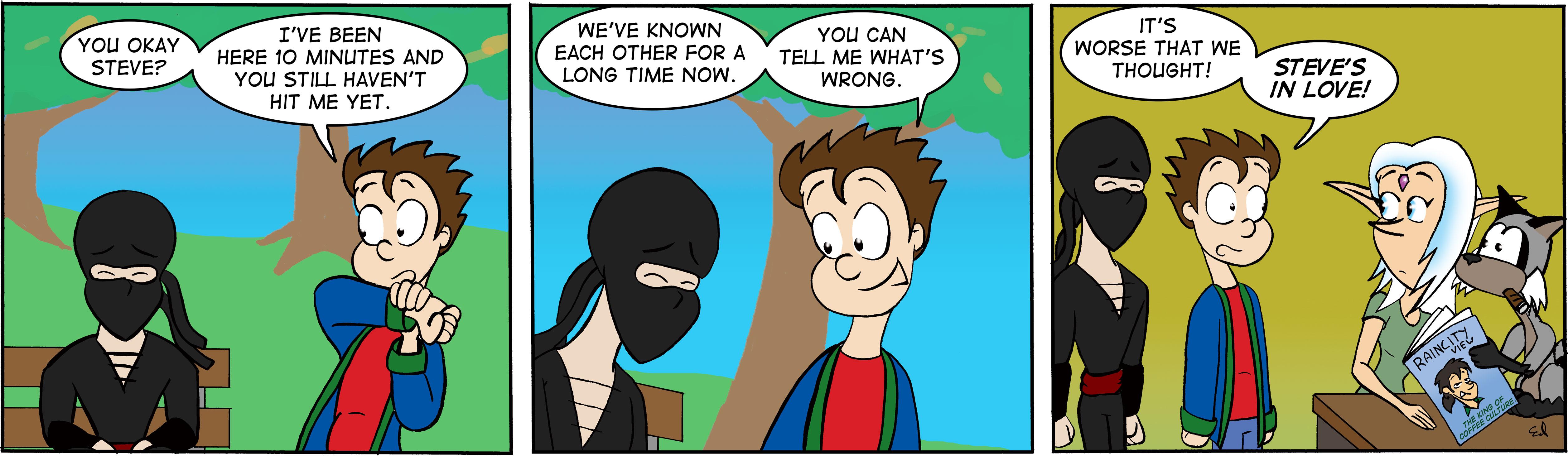 The lonely ninja 3