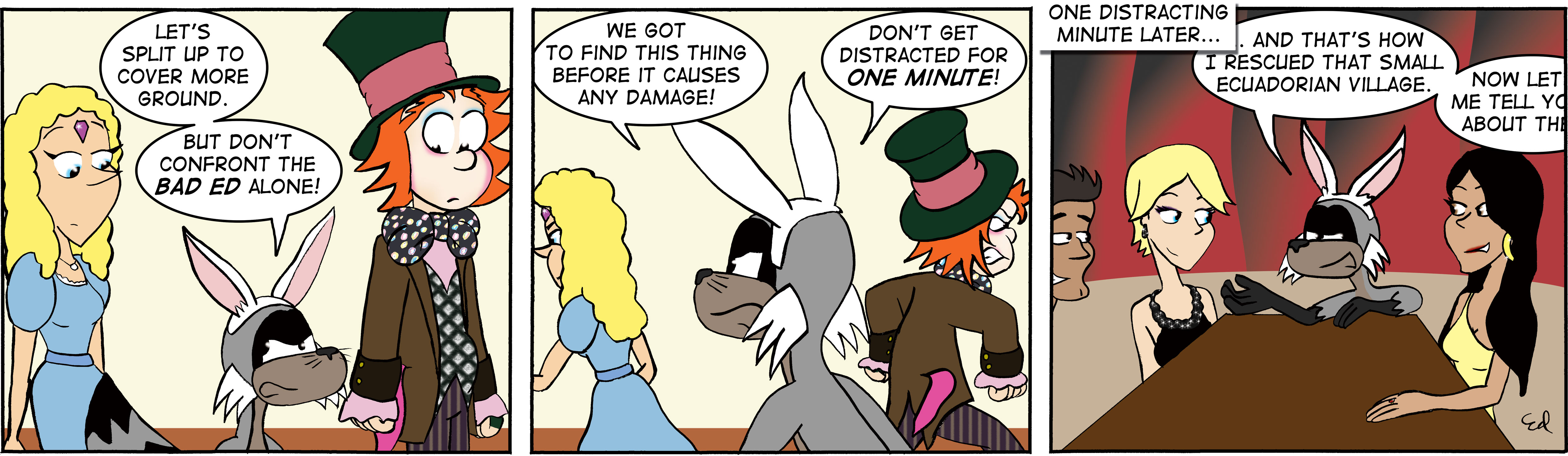 Bad Ed – The most interesting Bunny in the world.