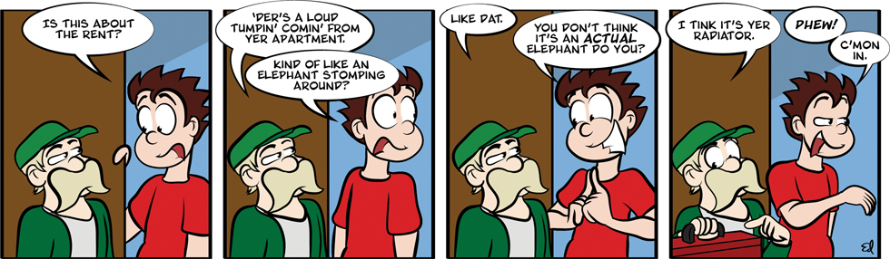 Elephant in the room, 8